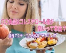 〇〇食品はコレステロール値が高いって本当?